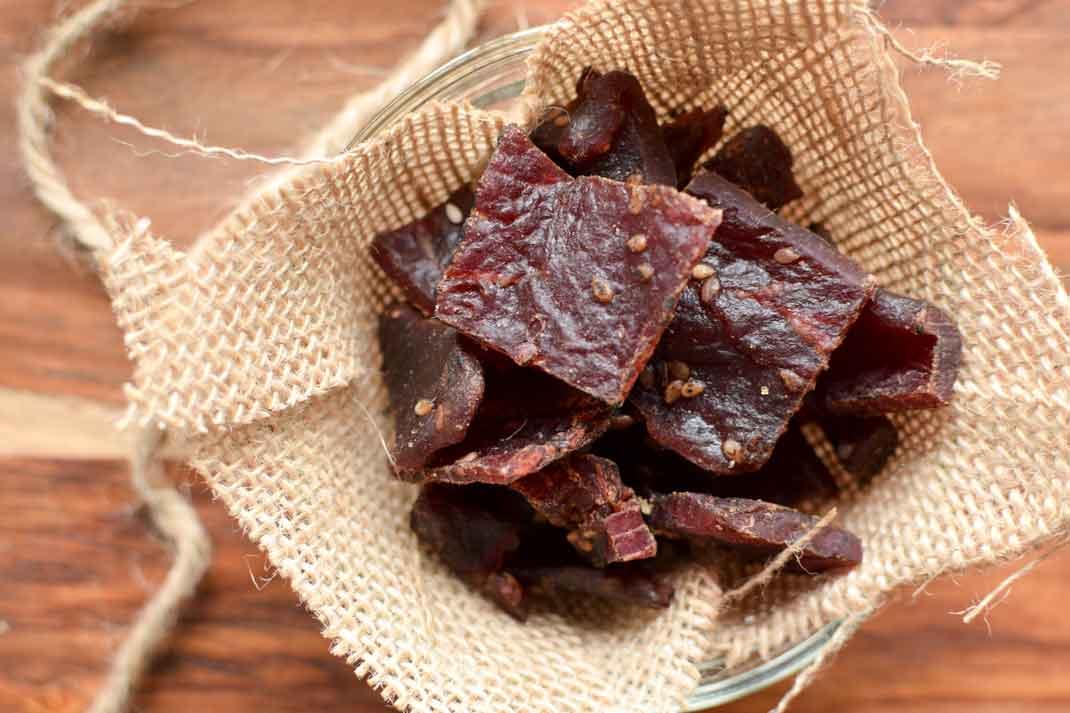 Oven Cured Venison Jerky Recipe