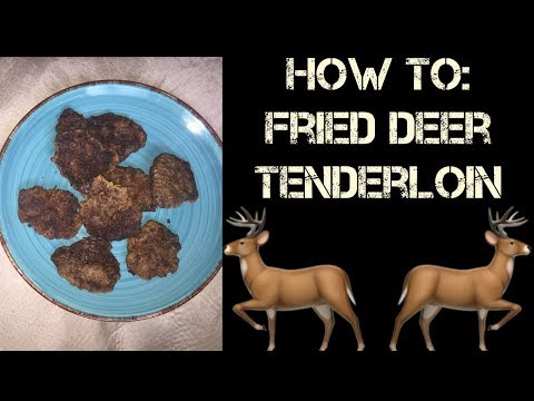 HOW TO COOK Venison Loin with Southern Flare